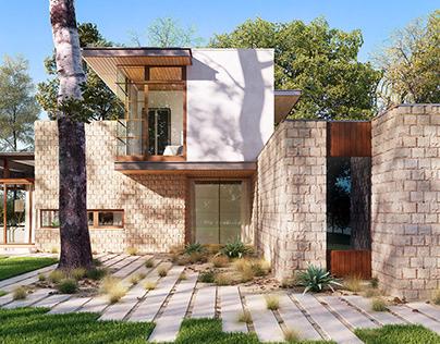 Austin Residence | Full CGI.