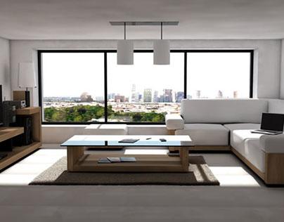 Interior en 3D