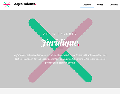Ary's Talents Web Design and web dev