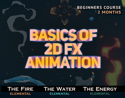 """Basics of 2D FX animation"" course"