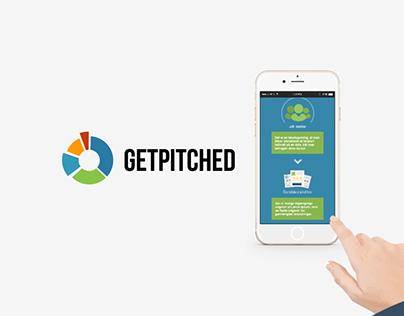 Getpitched - concept visualisation
