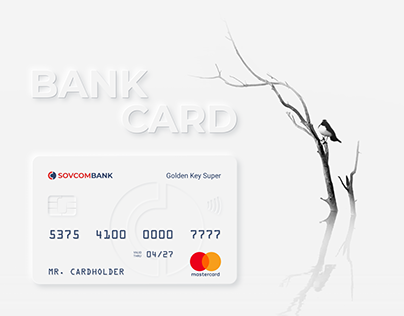 Bank card promo page