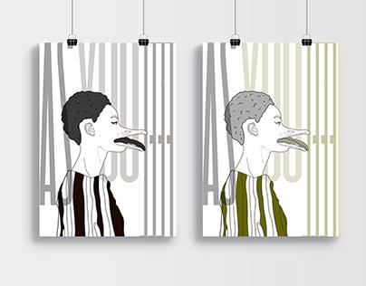 Textile illustration