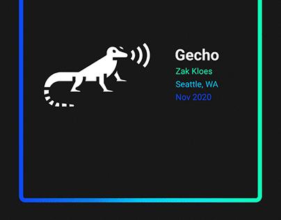 Gecho - UX Design Case Study
