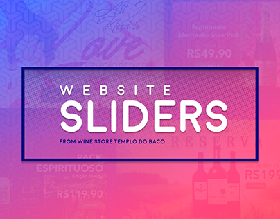 Web Sliders - Wine Store
