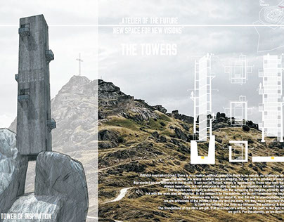 """""""TOWERS""""_ Atelier of the future_ for Fakro comp. 2014"""