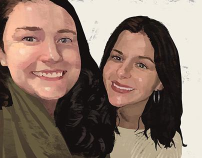 Katie and Nerissa