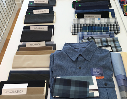MENSWEAR SPRING 2017 FABRIC AND TREND R&D