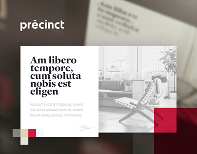 Branding - Precinct: Real Estate Agency
