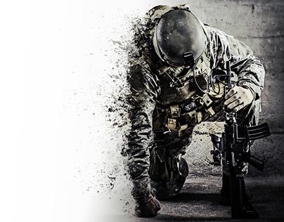 Landscape Soldier