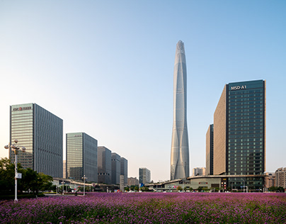 Tianjin CTF Finance Center - SOM