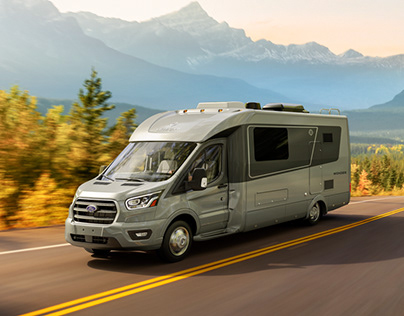 3D Rendering and Compositing for LV Wonder Motorhome