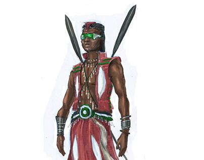 Captain Kenya concept art