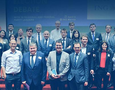 #Yes2Belgium Election Debate - Marketing & Social Media