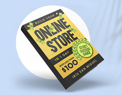 Book cover designBuild Your Online Store in 1 Day