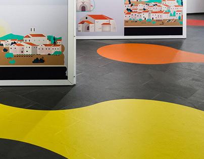"""""""Els noms de Sant Boi"""". Exhibition design"""