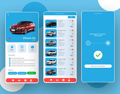 Car Rental App Demo