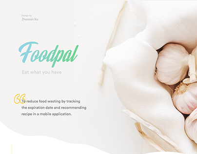 Foodpal- mobile food tracker | e生鲜