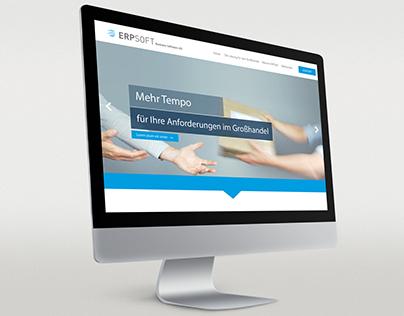 Webdesign Landingpage für ein IT-Systemhaus