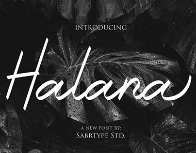 Halana Font