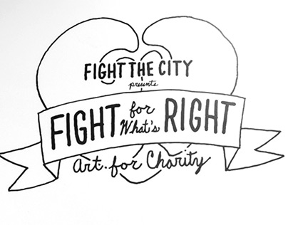 Fight For What's Right Art Show - Part One