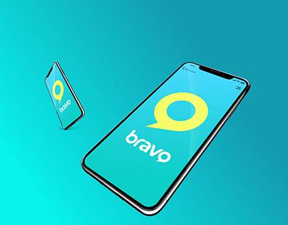 Bravo Rebrand Design Concept