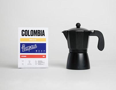Fikapaus. Branding and packaging
