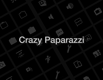 Crazy Paparazzi Icon Set [SVG]