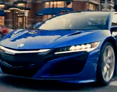The NSX in Boston // 2017 Boston Marathon