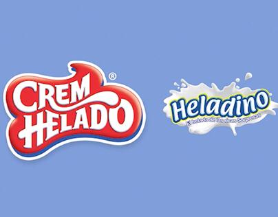 Comercial Heladino Peppa Pig. Crem Helado.