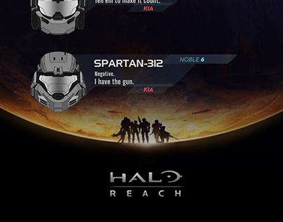 NOBLE TEAM , Halo Reach