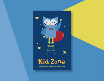 Kid Zone Postcard
