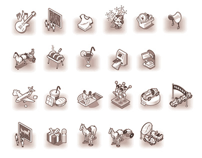 Icons Design (Pictogrammes)