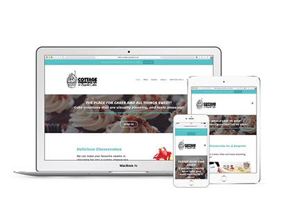Cottage Cheesecake Co. & Bespoke Cakes | Web Design