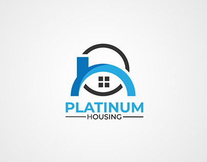 platinum housing real estate logo