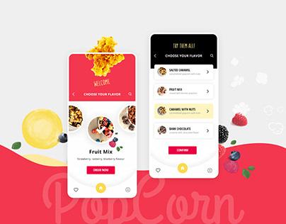 PopCorn Las Vegas   UI/UX Design