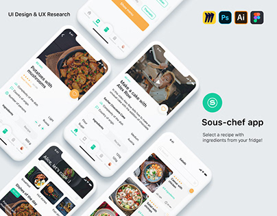 Startup app Sous-chef for iOS