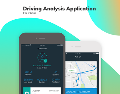 Driving Analysis Application