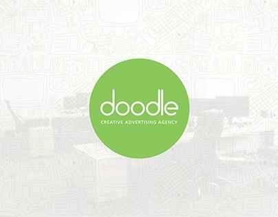 Doodle Advertising Agency Rebranding & Web Design