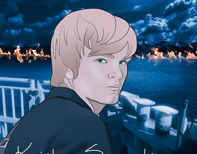 Book cover Swedish crime serie