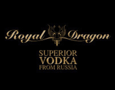 Royal Dragon Vodka - Design, Photography & Video Teaser