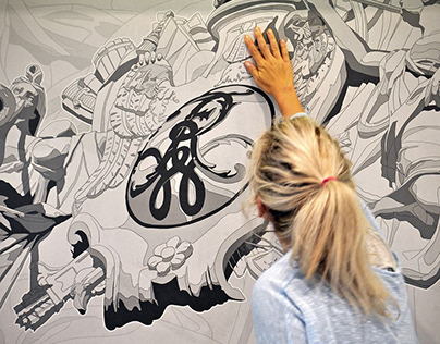 Mural & Canvas Collection 'Szczecin' for Onwall.eu