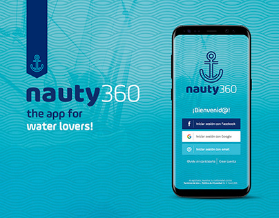 Nauty360, the app for water lovers!