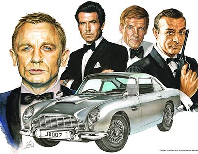 James Bond - Aston Martin DB5