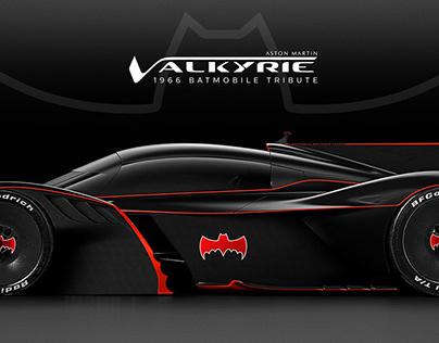 Aston Martin Valkyrie AMR Pro | 1966 Batmobile Tribute