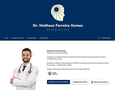 Dr. Matheus F. Gomes