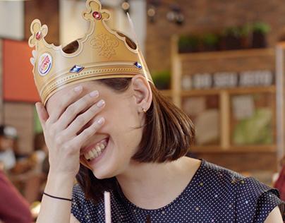 """Burger King _ """"O tamanho ou como se faz?"""""""