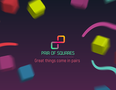 Pair Of Squares - Puzzle game for iOS and Android