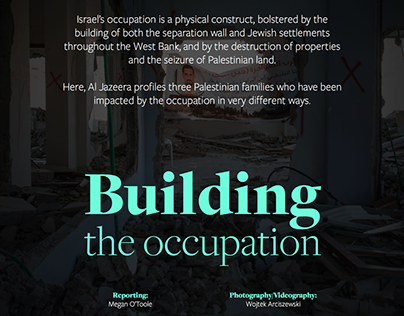 Building the occupation - Longform, AJE