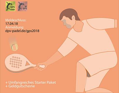 German Padel Series 2018 Poster Collection